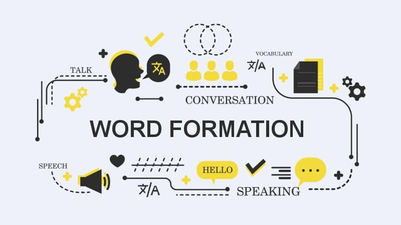 Способы образования слов в английском языке