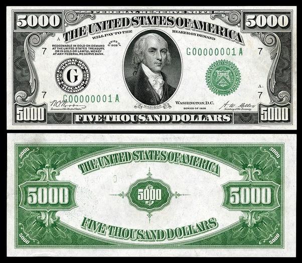 Кто изображен на долларах США